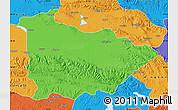 Political Map of Dulan