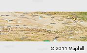 Satellite Panoramic Map of Dulan