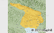 Savanna Style Map of Gangca