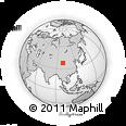 Outline Map of Gangca