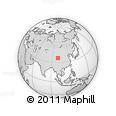 Outline Map of Gonghe