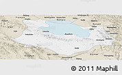 Classic Style Panoramic Map of Gonghe