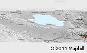 Physical Panoramic Map of Gonghe