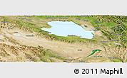 Satellite Panoramic Map of Gonghe