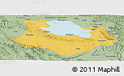 Savanna Style Panoramic Map of Gonghe
