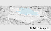 Silver Style Panoramic Map of Gonghe