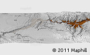 Physical Panoramic Map of Guinan