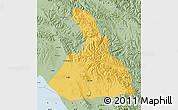 Savanna Style Map of Haiyan