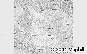 Silver Style Map of Huangzhong