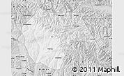 Silver Style Map of Huzhu