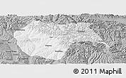 Gray Panoramic Map of Huzhu