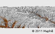 Physical Panoramic Map of Huzhu