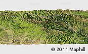 Satellite Panoramic Map of Huzhu