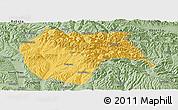 Savanna Style Panoramic Map of Huzhu