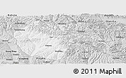 Silver Style Panoramic Map of Huzhu