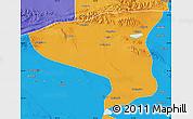 Political Map of Lenghu