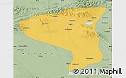 Savanna Style Map of Lenghu