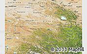 Satellite Map of Qinghai