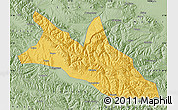 Savanna Style Map of Menyuan