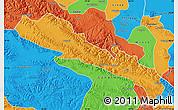 Political Map of Qilian