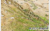 Satellite Map of Qilian