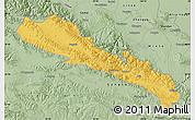 Savanna Style Map of Qilian