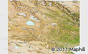Satellite 3D Map of Tianjun