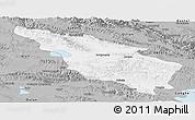 Gray Panoramic Map of Tianjun