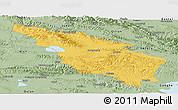 Savanna Style Panoramic Map of Tianjun