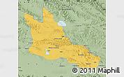 Savanna Style Map of Ulan