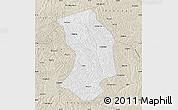Classic Style Map of Ansai