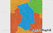 Political Map of Ansai
