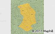 Savanna Style Map of Ansai