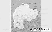 Gray Map of Dingbian