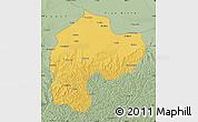Savanna Style Map of Dingbian