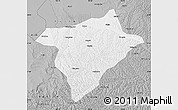 Gray Map of Hengshan
