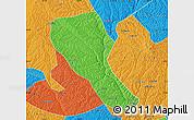 Political Map of Jia Xian