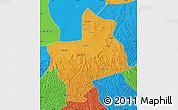Political Map of Jingbian