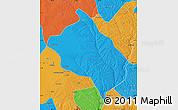 Political Map of Shenmu