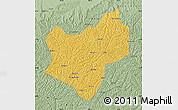 Savanna Style Map of Wuqi