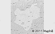 Silver Style Map of Wuqi