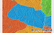 Political Map of Yanchang