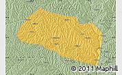 Savanna Style Map of Yanchang