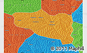 Political Map of Yanchuan
