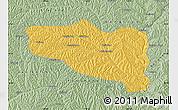 Savanna Style Map of Yanchuan