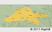Savanna Style Panoramic Map of Yulin