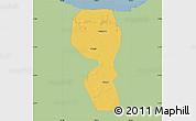 Savanna Style Map of Changyi, single color outside
