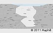 Gray Panoramic Map of Changyi