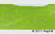 Physical Panoramic Map of Changyi