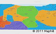 Political Panoramic Map of Changyi